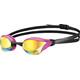 arena Cobra Core Mirror Svømmebriller pink/sort